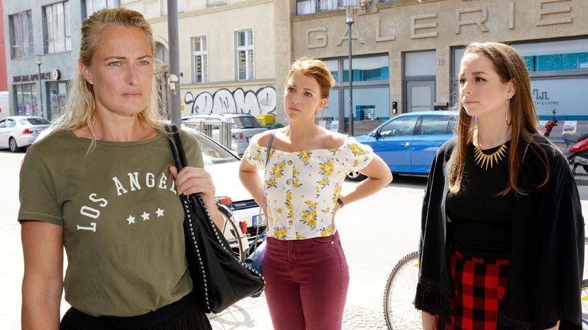 Maren, Lilly und Tanja Seefeld bei GZSZ