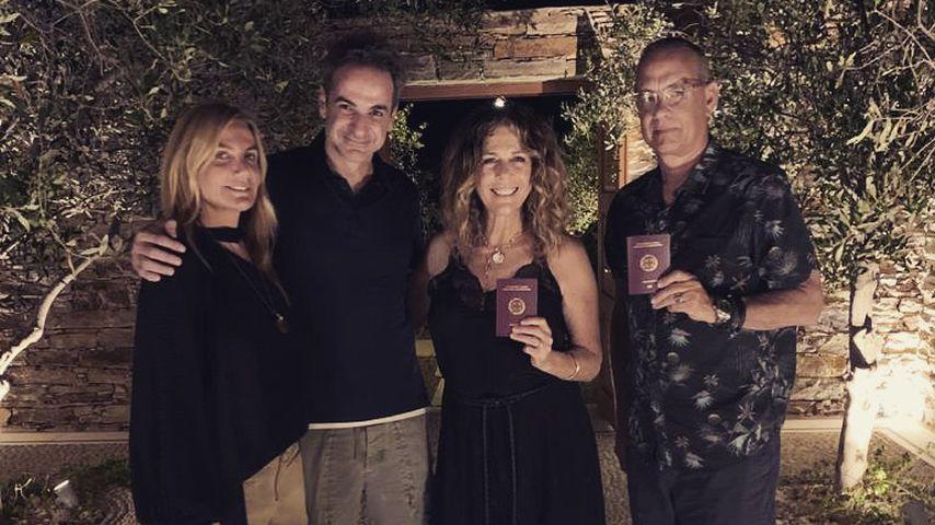 Tom Hanks und Rita Wilson sind jetzt offiziell Griechen!