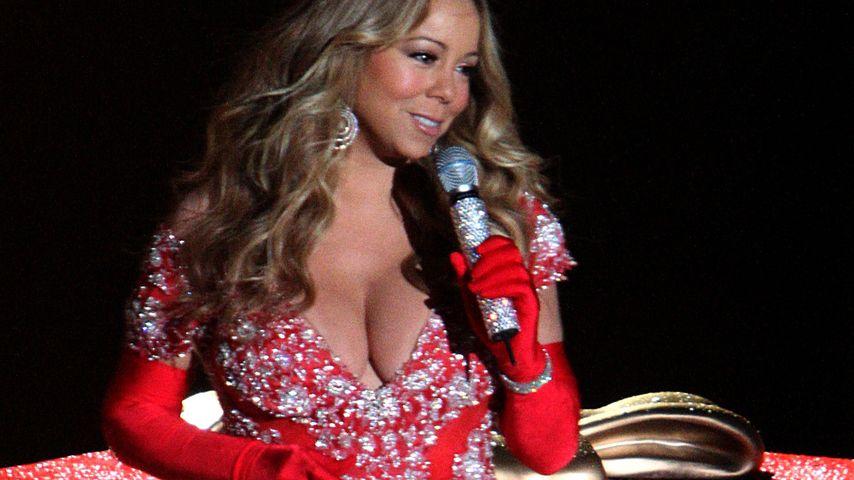Mariah Carey: Weihnachten mit sündigem Ausschnitt