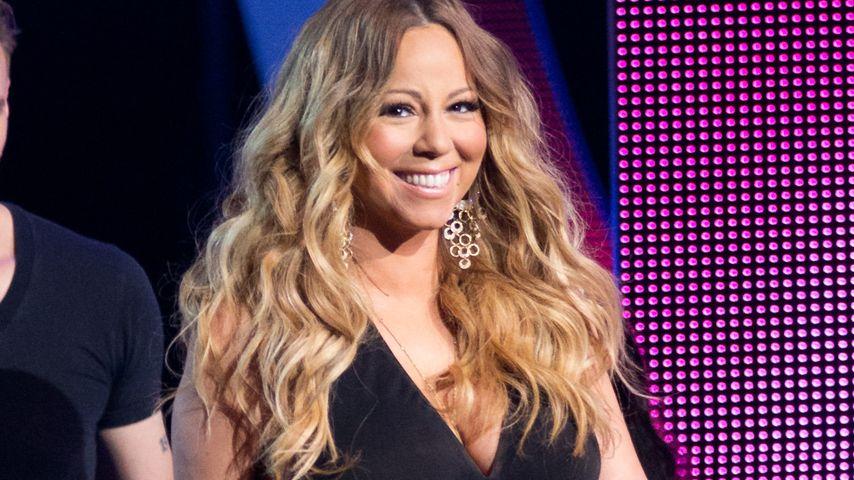 Wow! Mariah Carey präsentiert ihren flachen Bauch