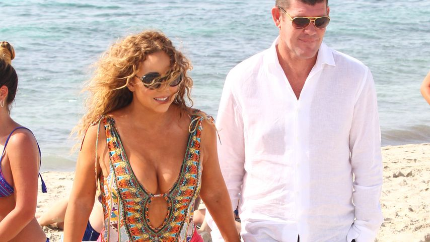 Mariah Carey und James Packer