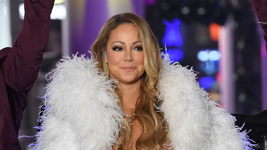 Mariah Carey an Silvester am Times Square