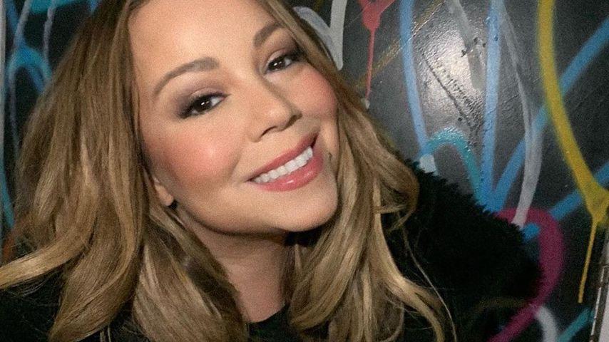 Sängerin Mariah Carey in NYC