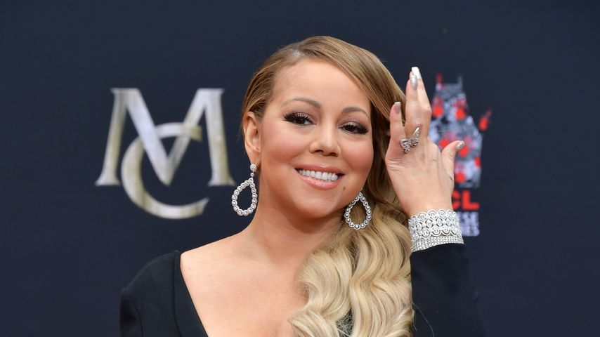 Mariah Carey bei der Hand and Footprint Ceremony im November 2017