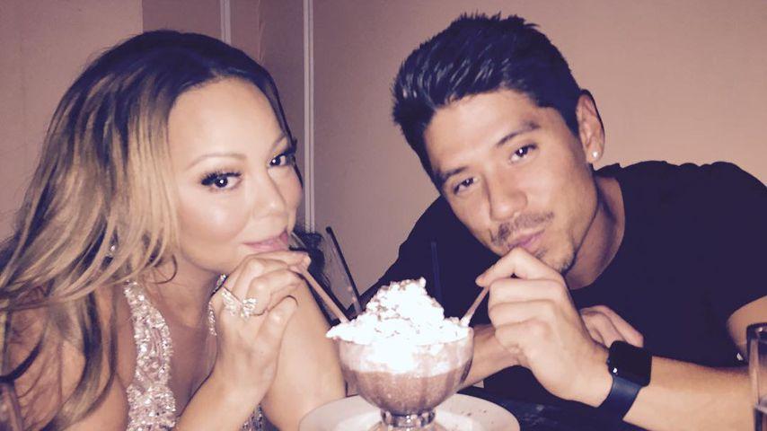 Doch ein anderer Ex? Mariah Carey knutscht Toyboy Bryan
