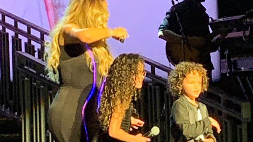 Mariah Carey holt bei Konzert ihre Zwillinge auf die Bühne!
