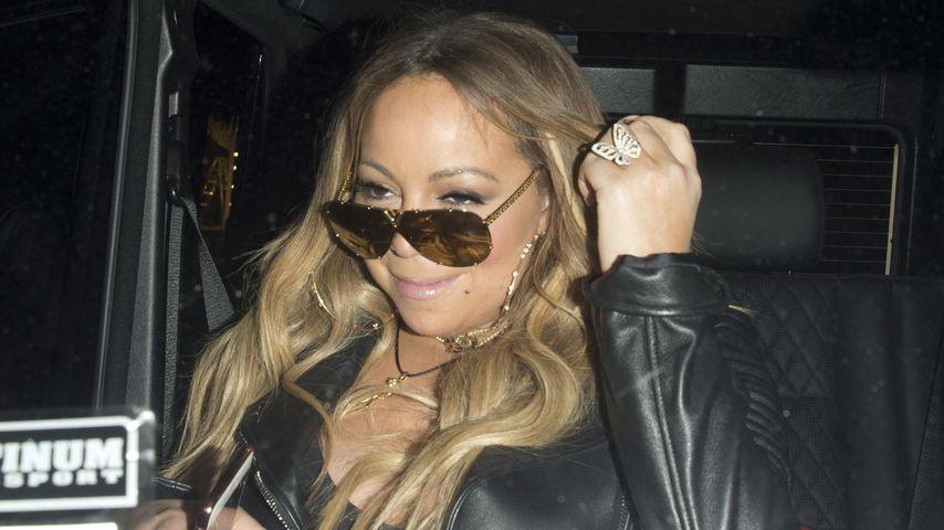 Zu viel gebechert, oder was? Mariah Carey kann nicht laufen