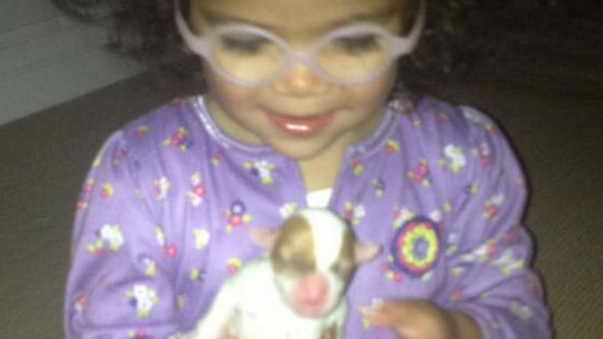 Zuckersüß! Mariah Careys Tochter mit Mini-Hund
