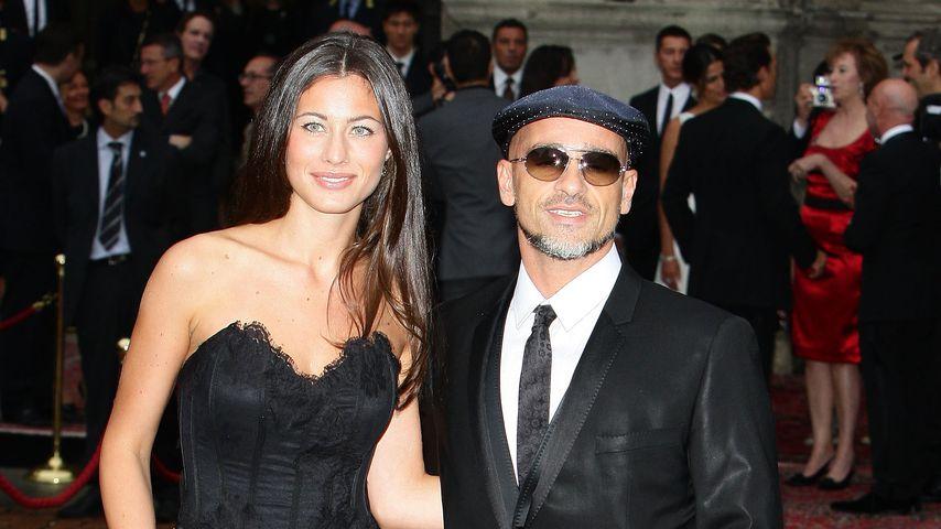 Marica Pellegrini und Eros Ramazzotti im Juni 2010