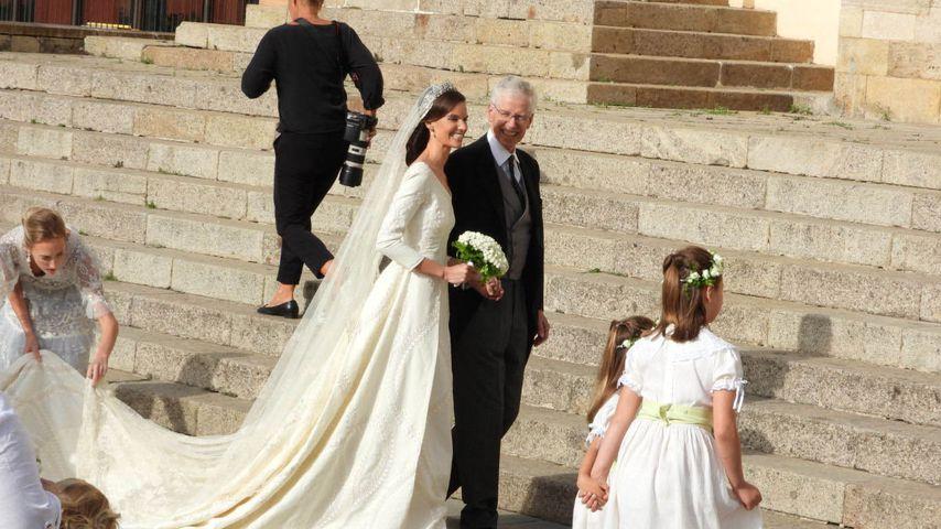 So schön war Marie-Astrid von Liechtenstein als Braut!