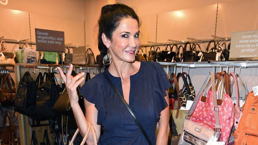 Mariella Ahrens beim TK Maxx Midnight Shopping 2019