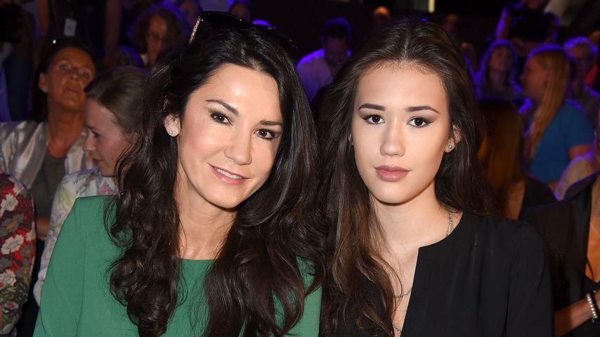 Mariella Ahrens und Tochter Isabella Ahrens bei der Berlin Fashion Week 2016