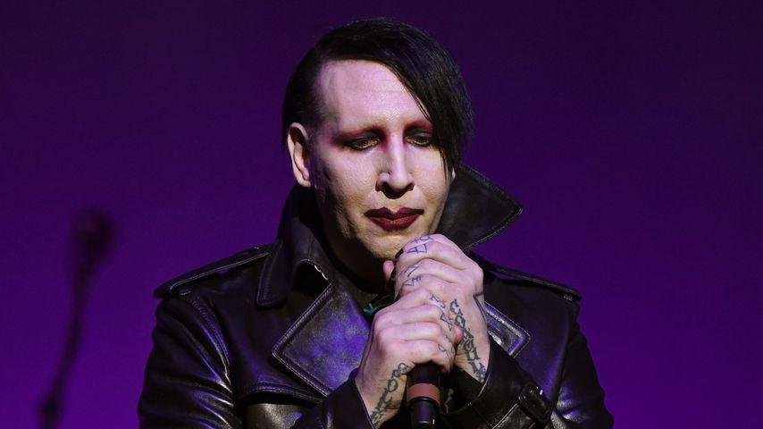 Marilyn Manson bei einem Auftritt im Dezember 2019