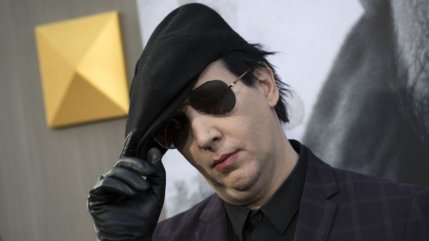 "Marilyn Manson bei der ""Arthur: Legend of the Sword""-Premiere in Kalifornien"