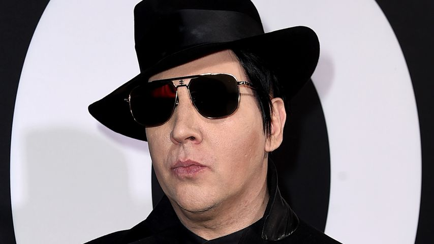 Marilyn Manson in Los Angeles, 2018