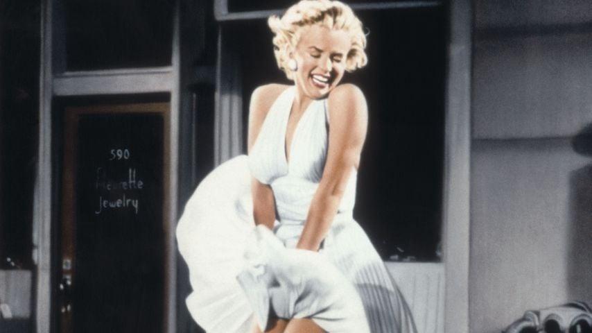 """Marilyn Monroe in einer Szene von """"Das verflixte siebte Jahr!"""""""
