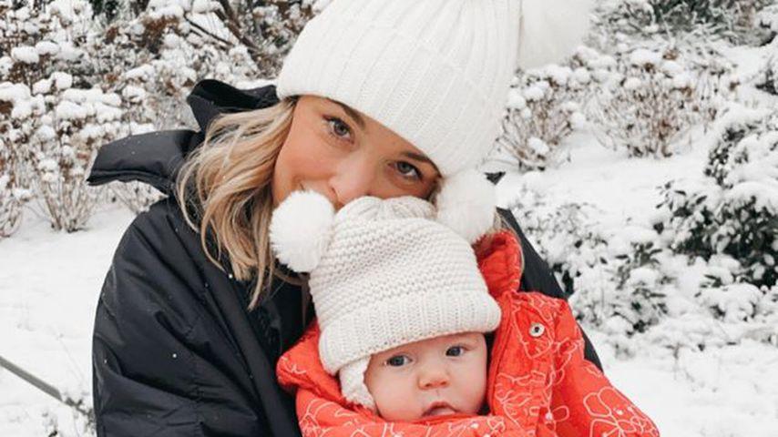 Marina Hoermanseder mit ihrer Tochter Lotti Zoé Miami