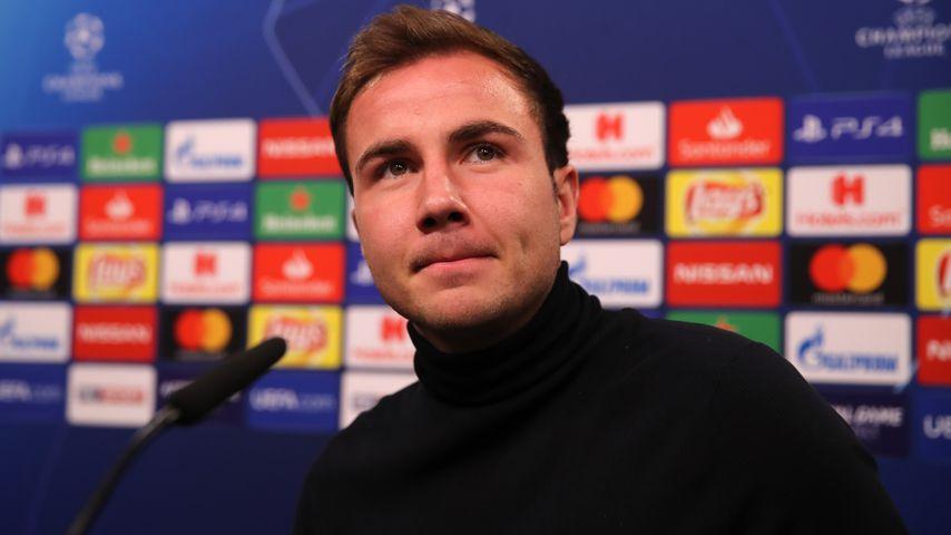 Mario Götze bei einer Pressekonferenz in Dortmund im November 2018