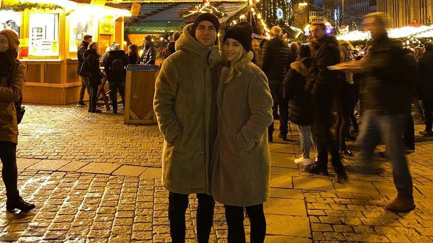 Mario und Ann-Kathrin Götze in Dortmund