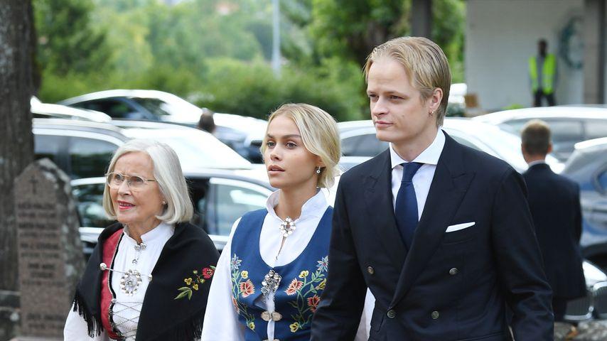 Marit Tjessem, Juliana Snekkestad und Marius Borg Høiby im September 2020