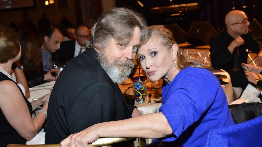 Mark Hamill und Carrie Fischer bei der Golden Heart Gala 2014 in Beverly Hills