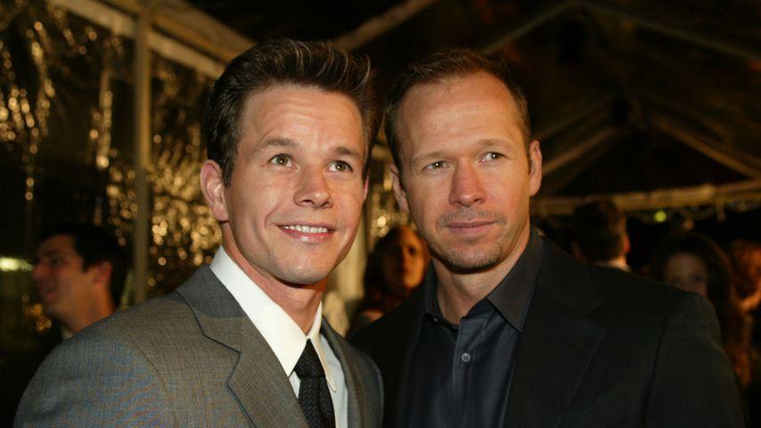 Mark Wahlberg und Donnie Wahlberg