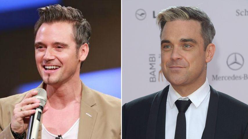 Robbie Williams bei DSDS? Lookalike-Marko begeistert Jury
