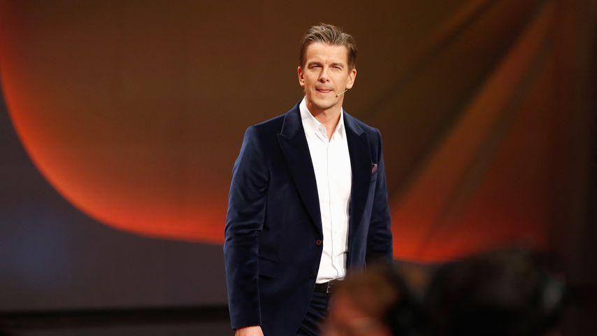 """Markus Lanz bei """"Wetten, dass.. ?"""" 2014"""