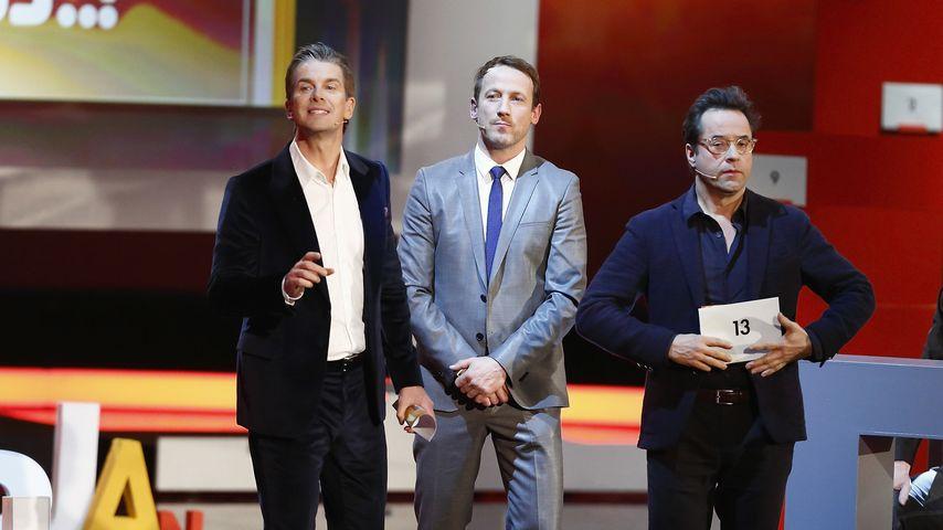 Wotan Wilke Möhring, Jan Josef Liefers und Markus Lanz