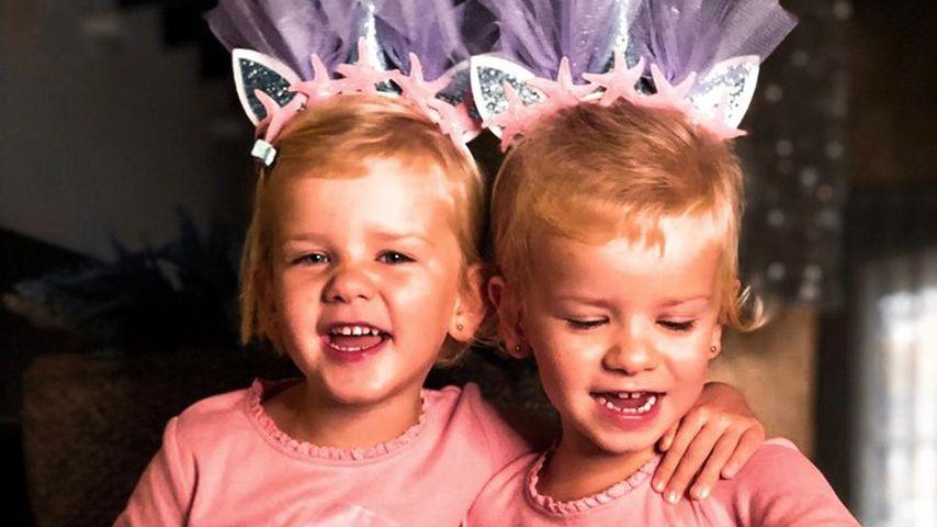 So süß: Christian Tews' Zwillinge feiern schon 4. Geburtstag