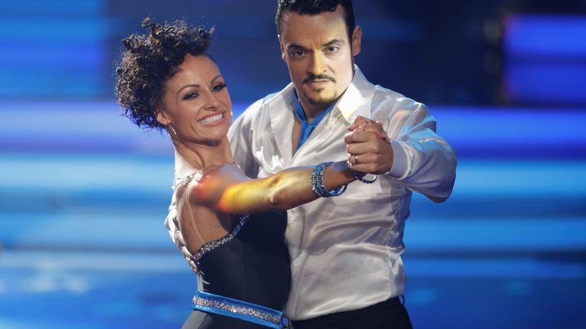 """Marta Arndt und Giovanni Zarrella bei """"Let's Dance"""" 2017"""