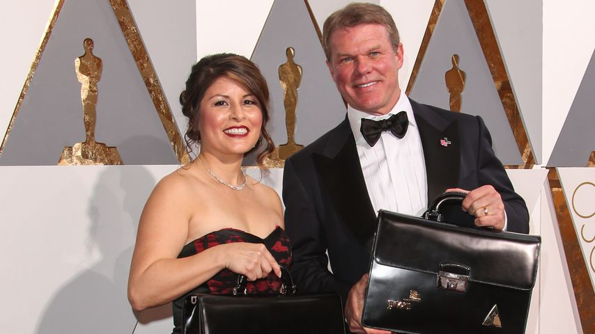 Mega-Oscar-Fail: Kofferträger hatte Twitter-Verbot!