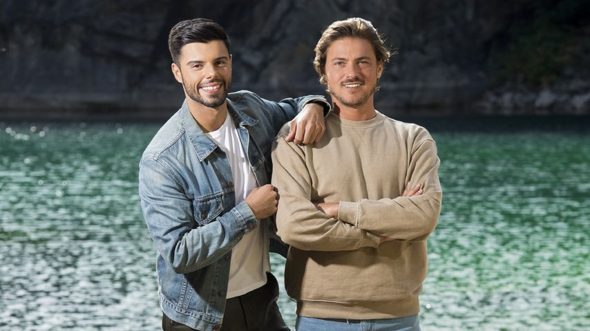"Martin Angelo und Dominic Smith bei ""#CoupleChallenge"""