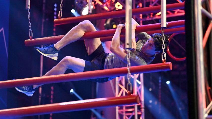 "Martin Schmitt beim ""Ninja Warrior Germany - Promi Special"" 2020"