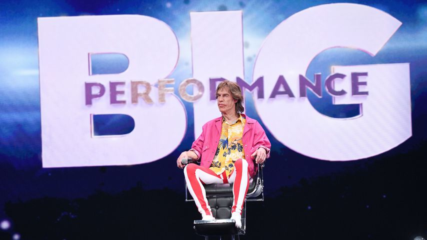 "Martin Schneider als Mick Jagger bei ""Big Performance"""
