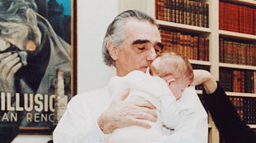 Martin Scorsese, Regisseur mit Tochter Francesca