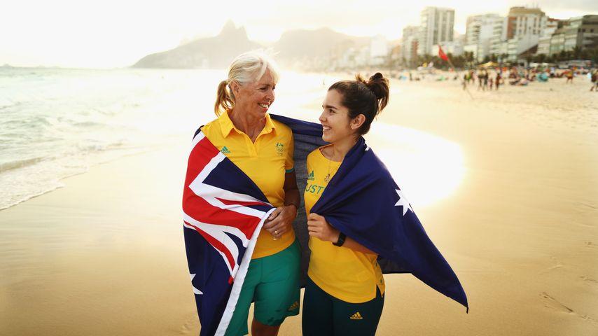 Reiterin Mary Hanna: Älteste Olympionikin (61) ist schon Oma
