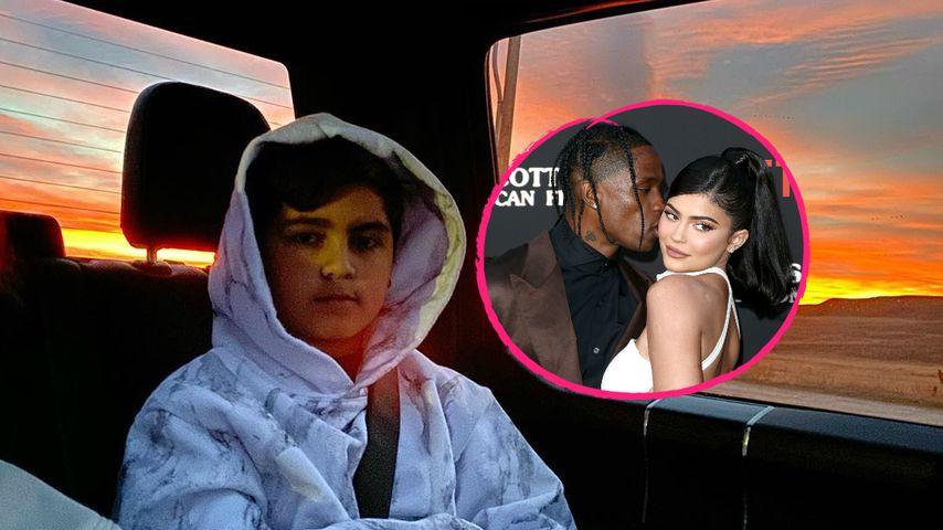 Kourtneys Sohn plaudert aus: Kylie & Travis bleiben getrennt