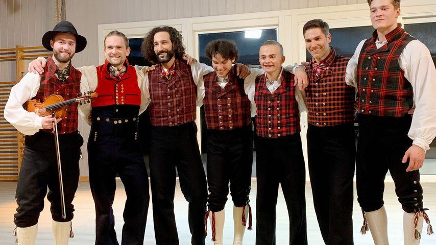 Massimo Sinató, Christian Polanc und die norwegische Tanz-Crew