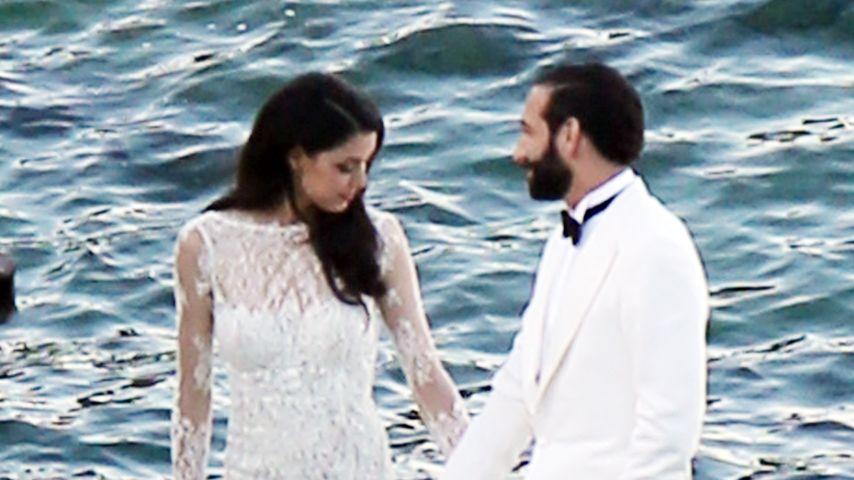 Massimo Sinató und Rebecca Mir