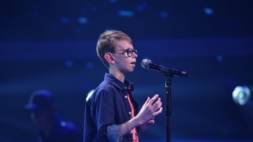 "Mats bei der Blind Audition von ""The Voice Kids"""