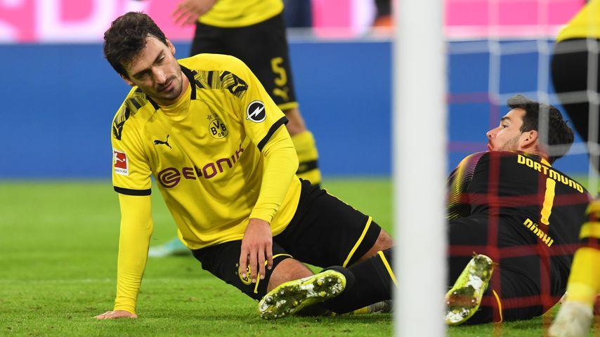 Mats Hummels beim Fußballspiel FC Bayern München gegen Borussia Dortmund, November 2019