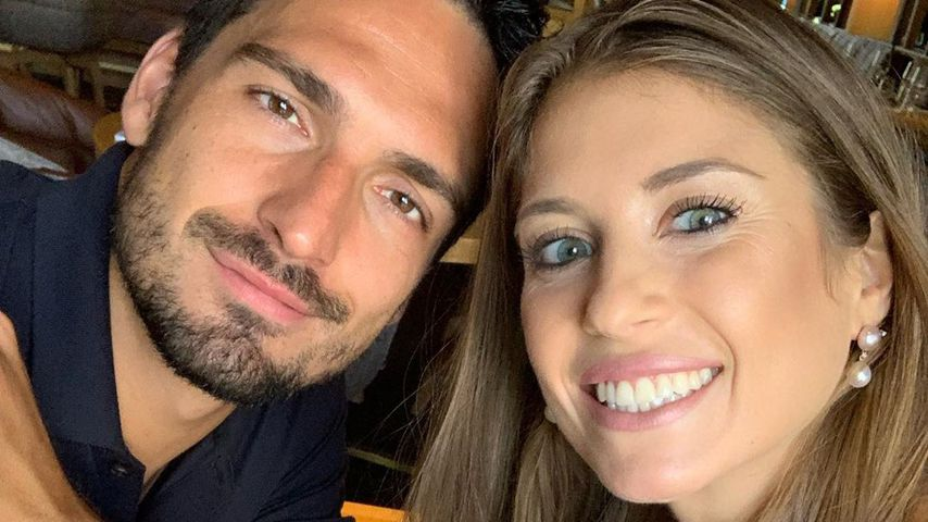 Mats und Cathy Hummels im Juli 2019