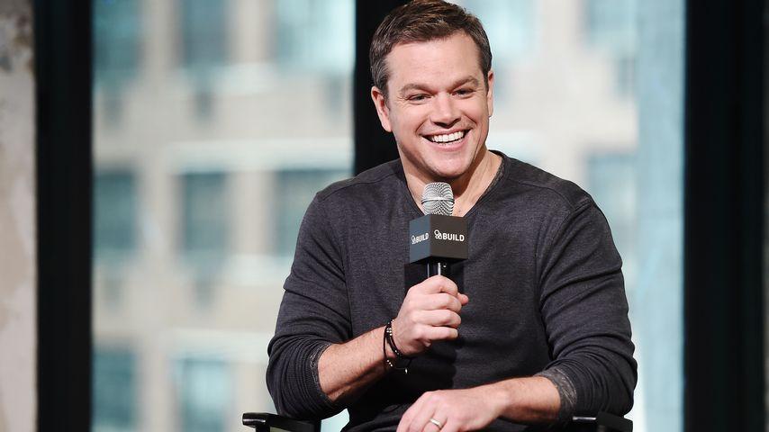 """Matt Damon bei einer Podiumsdiskussion zu seinem Film """"Jason Bourne"""""""