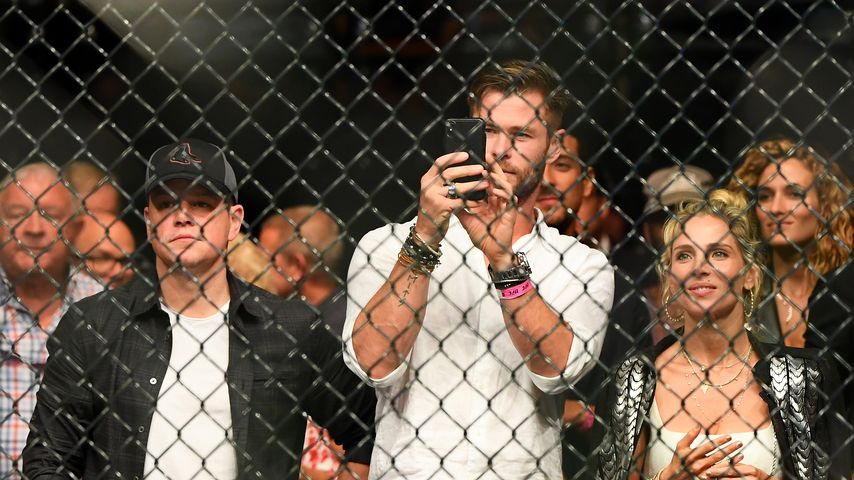 Matt Damon, Chris Hemsworth und Elsa Pataky