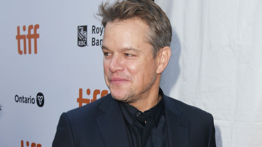 Matt Damon im September 2019