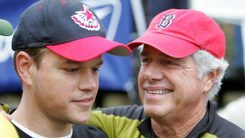 Matt Damon mit seinem Vater Kent Damon