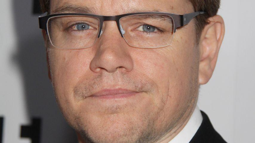 Faulpelz Matt Damon: Das bringt seine Frau auf die Palme