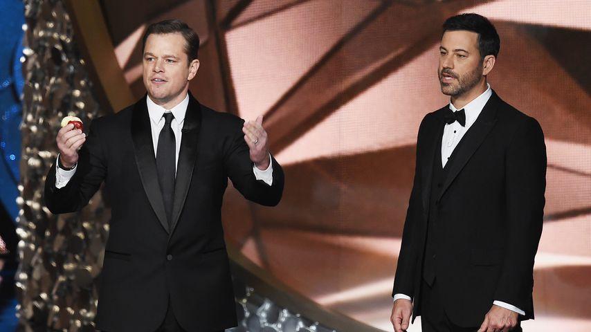 Jimmy Kimmel vs. Matt Damon: Lustiger Streit geht weiter!