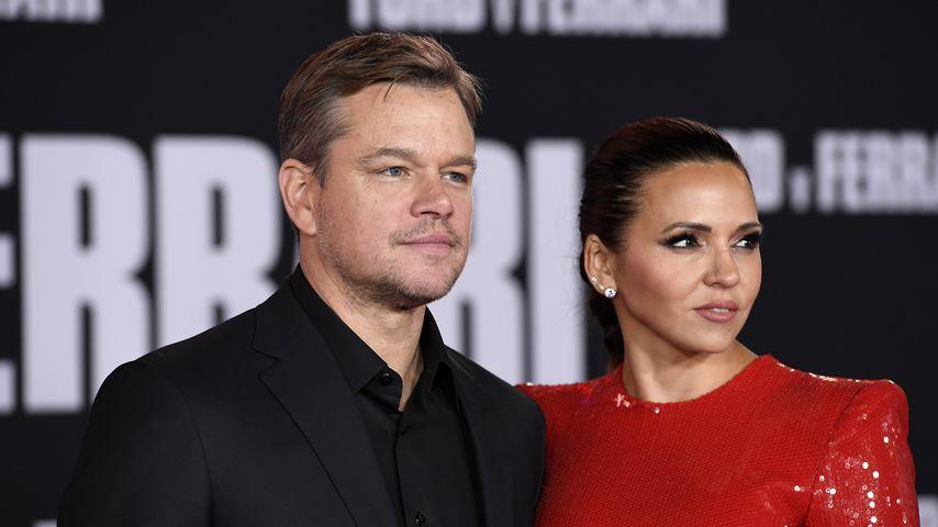 Matt Damon und Luciana Barroso